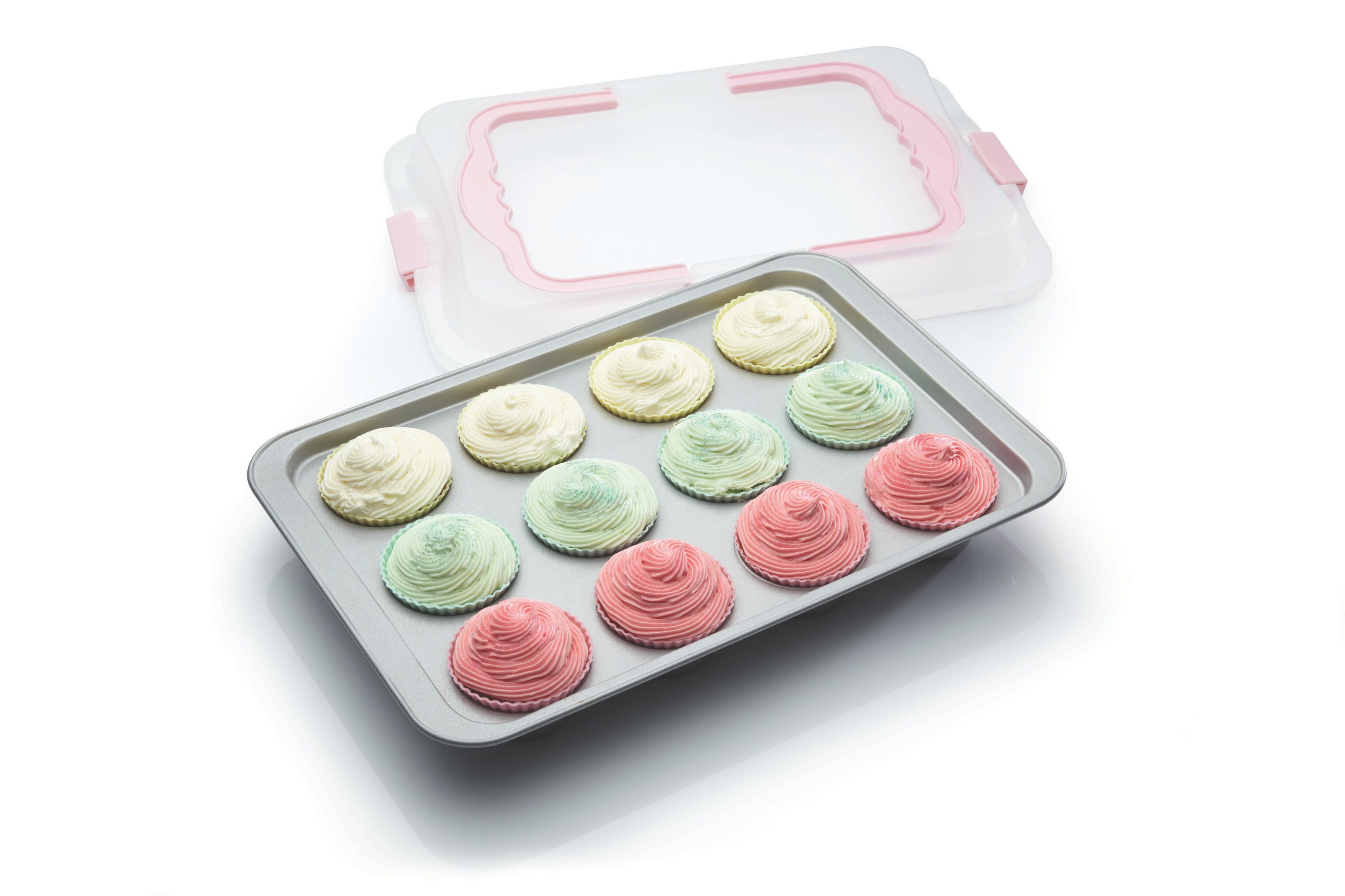 Bake & Carry cupcake tray, 12 cups