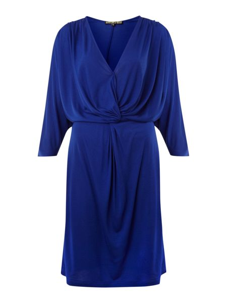 Biba Twist waist detail jersey dress