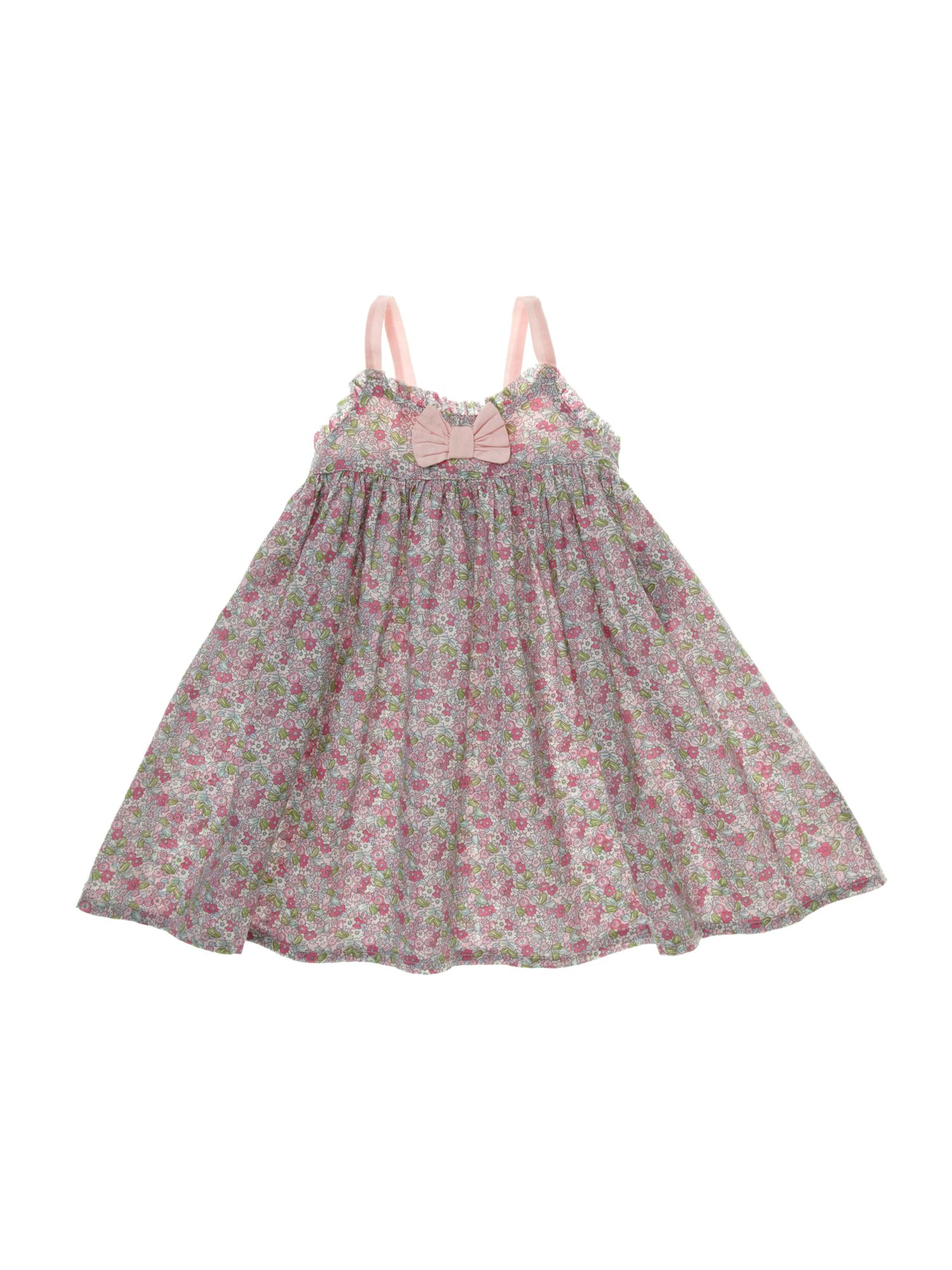 Girl`s ditsy floral dress