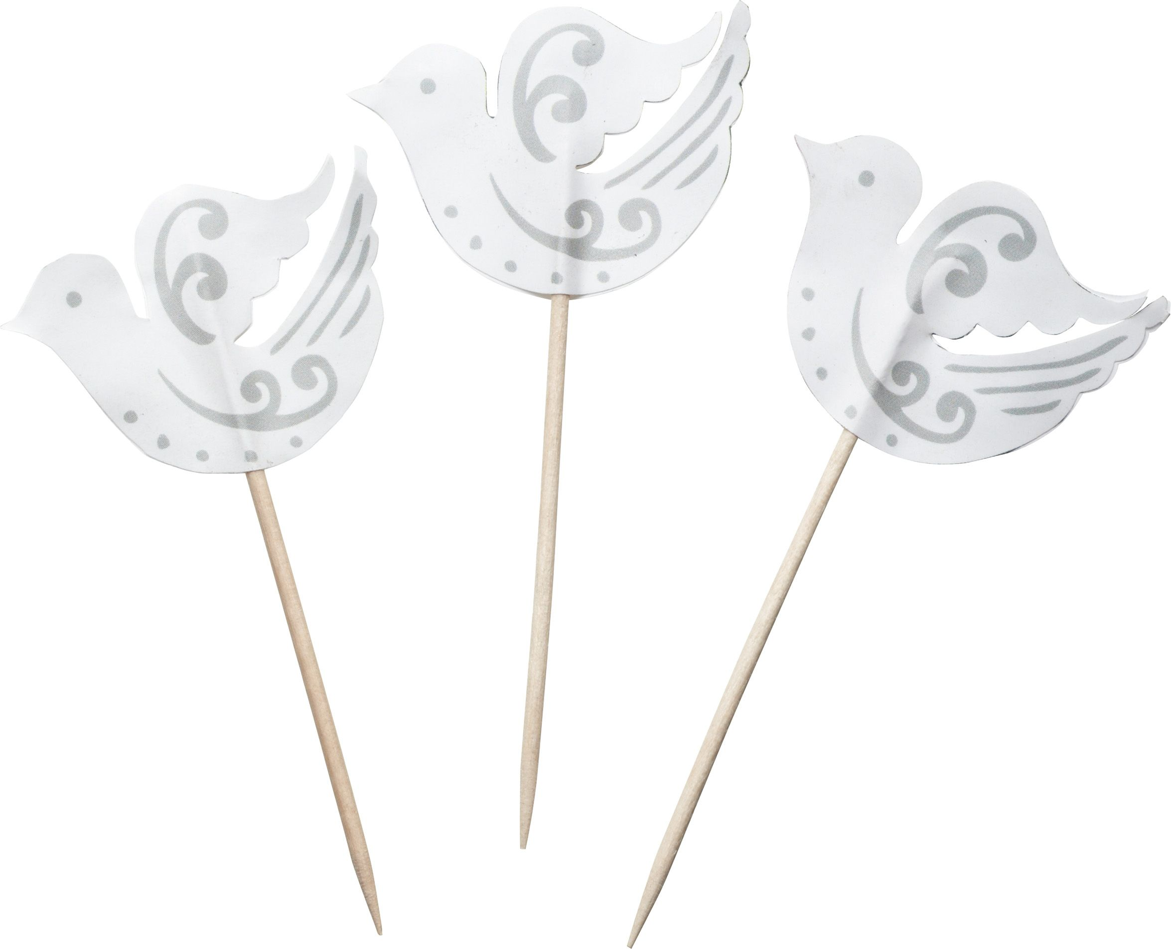 Silver cupcake decorating kit