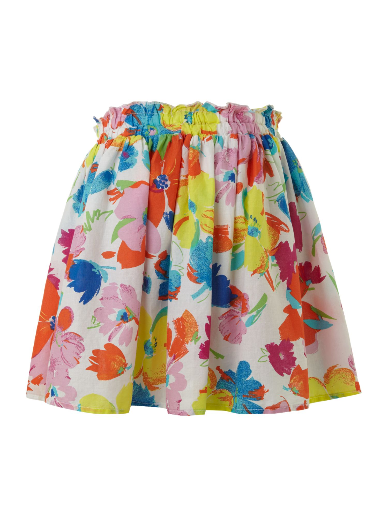 Girl`s floral rara skirt