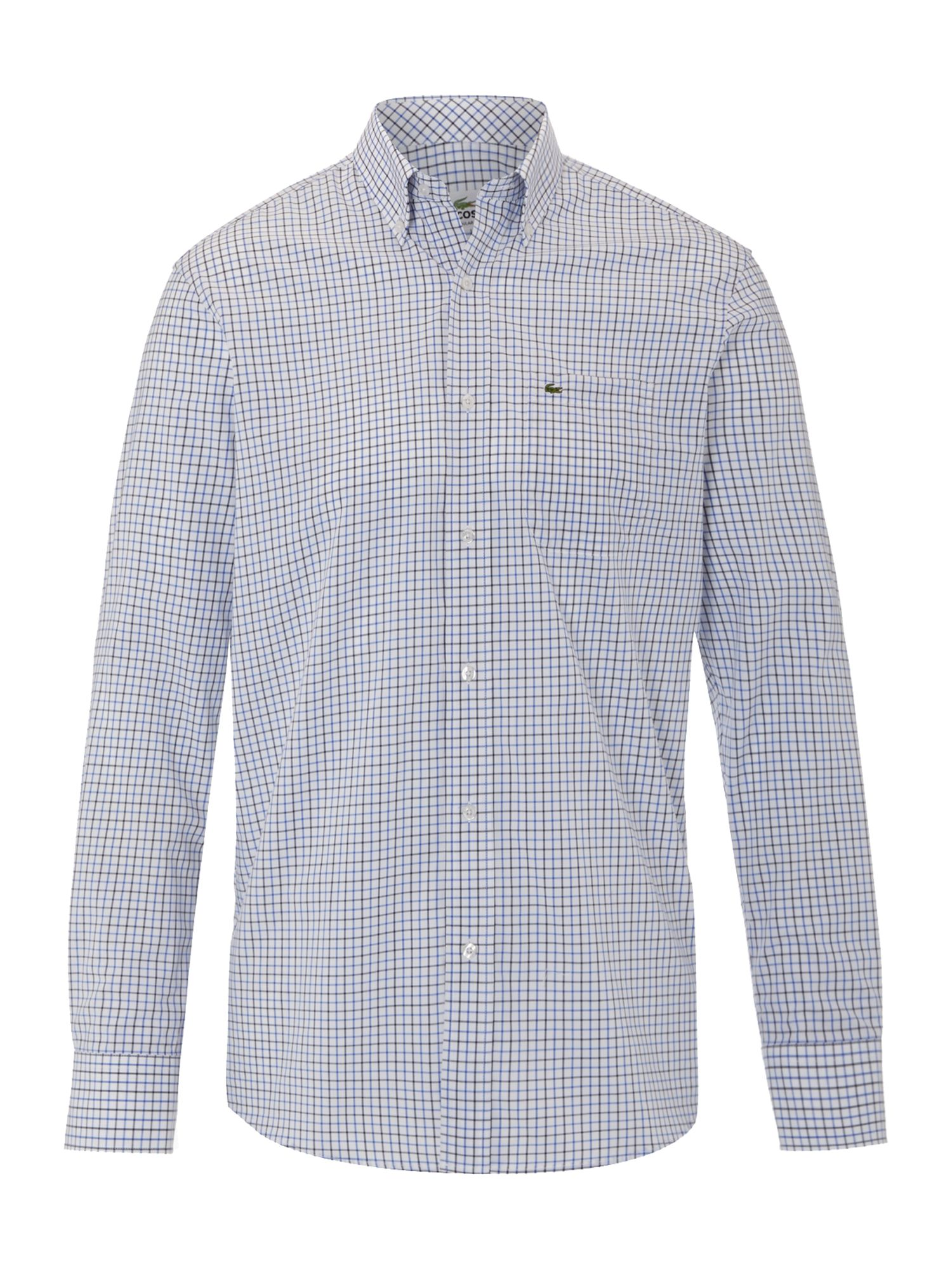 Long sleeved check shirt
