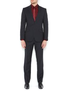 Kenneth Cole Morton Shadow Stripe Twill Suit Jacket