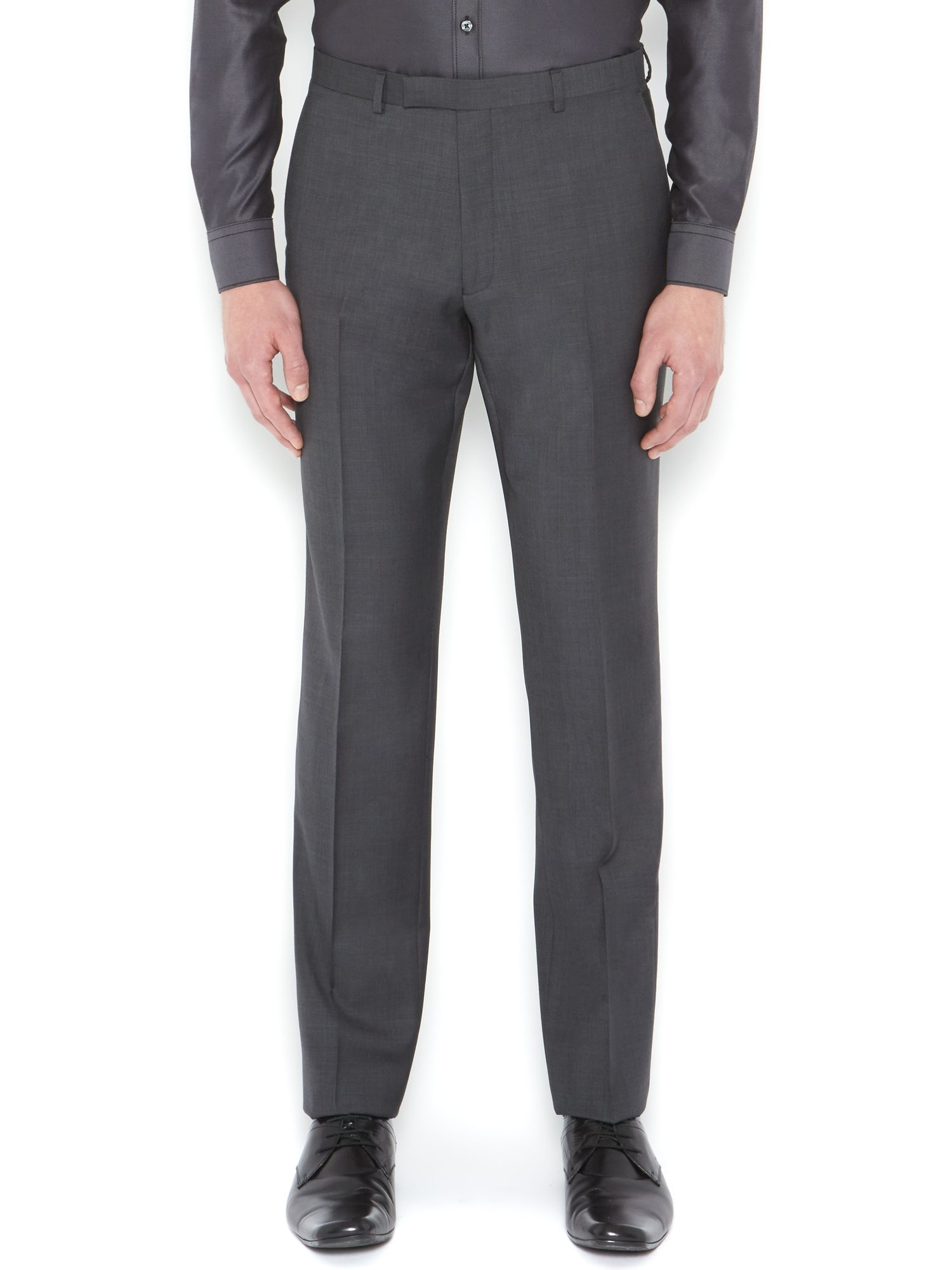 Wooster Sharkskin Slim Fit Suit Trouser