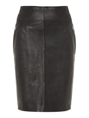 Mary Portas Leather Skirt