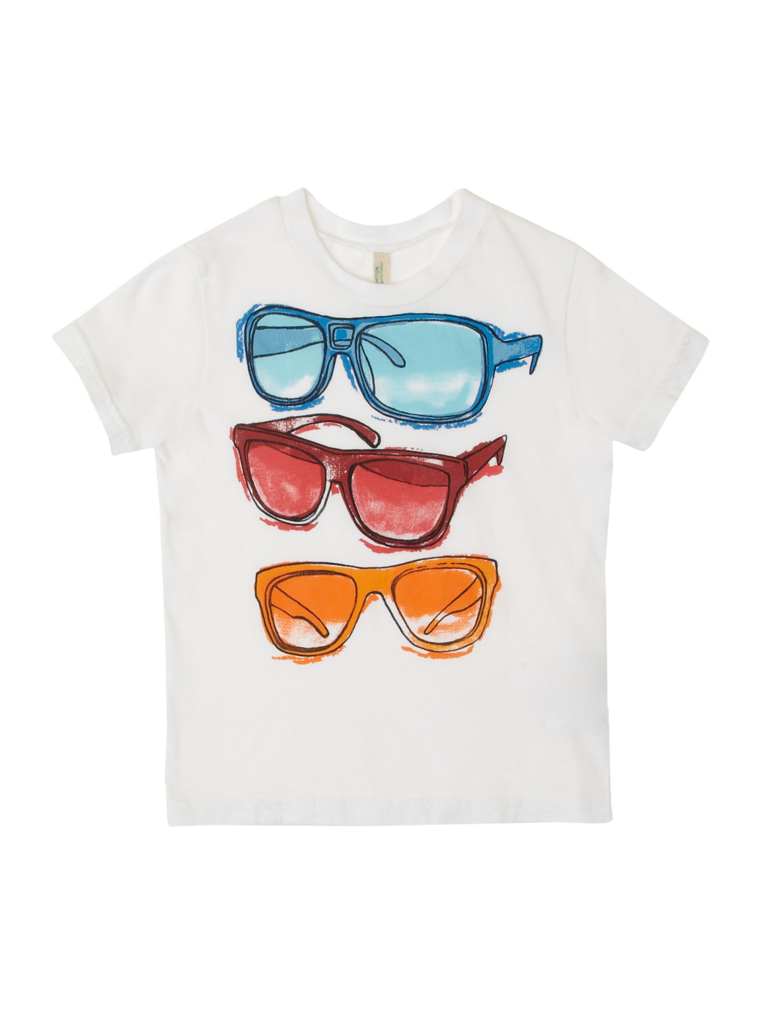 Boy`s sunglasses graphic T-shirt