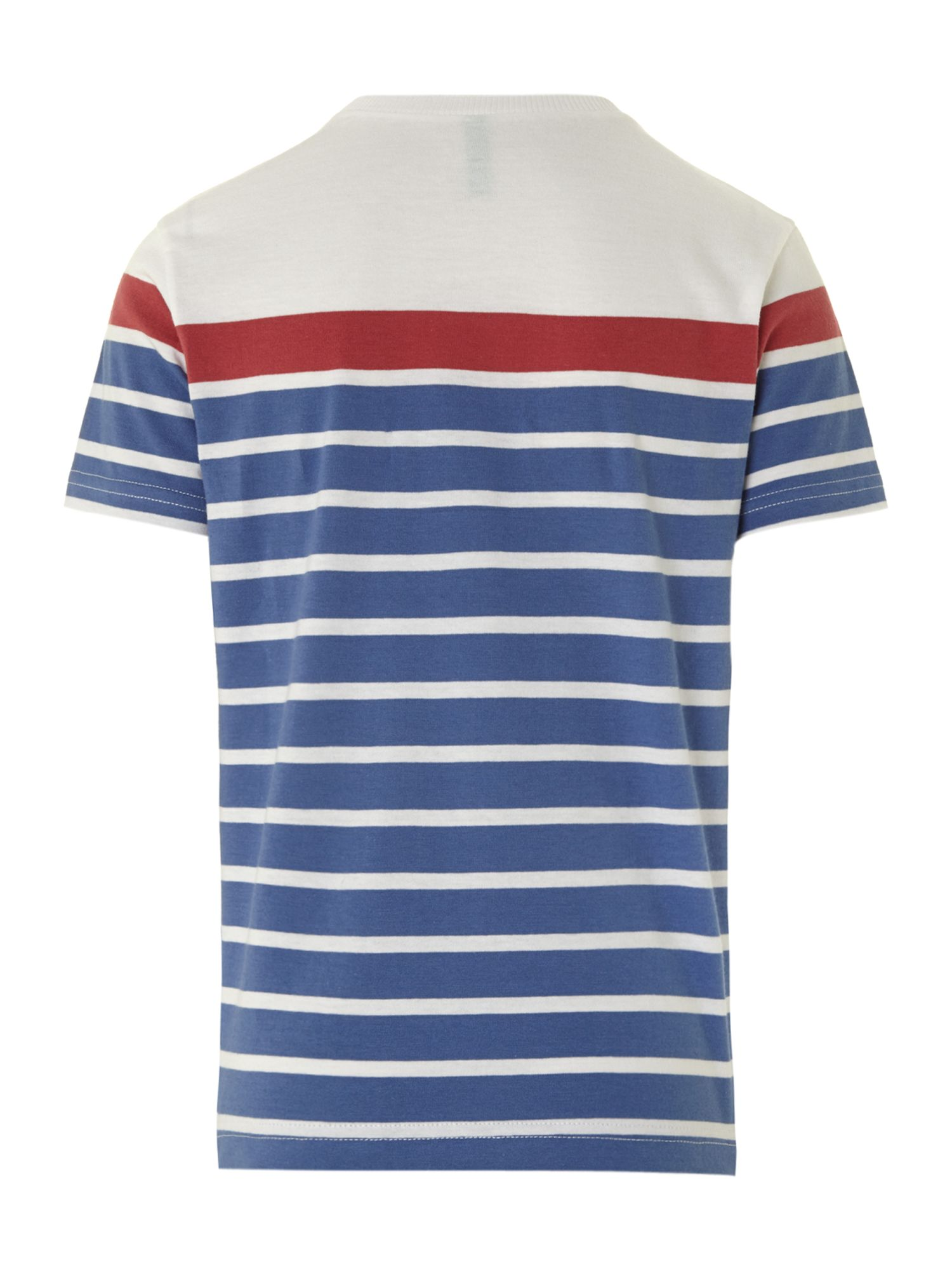 Boy`s wide stripe T-shirt