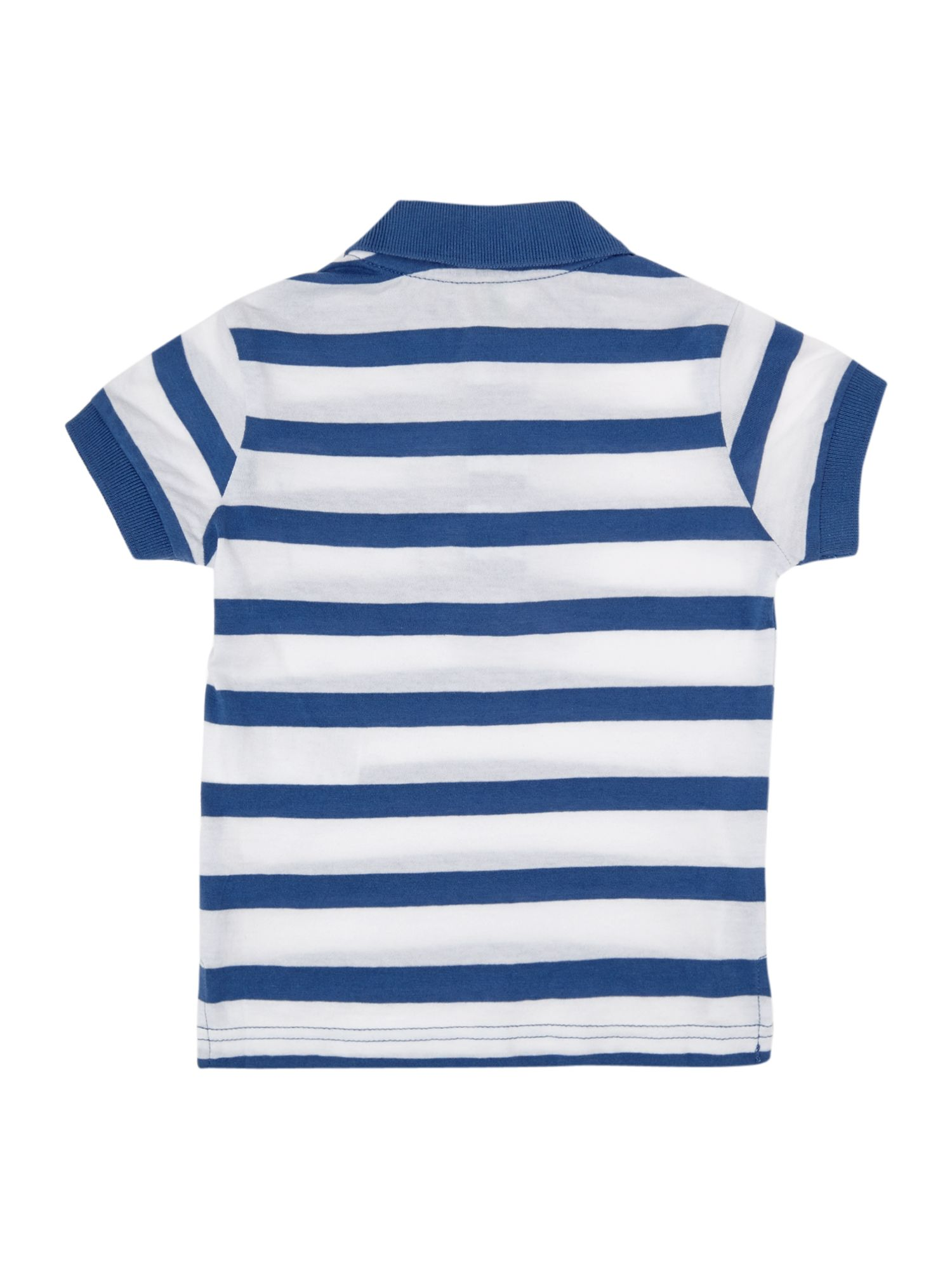 Boy`s multi-stripe classic polo shirt