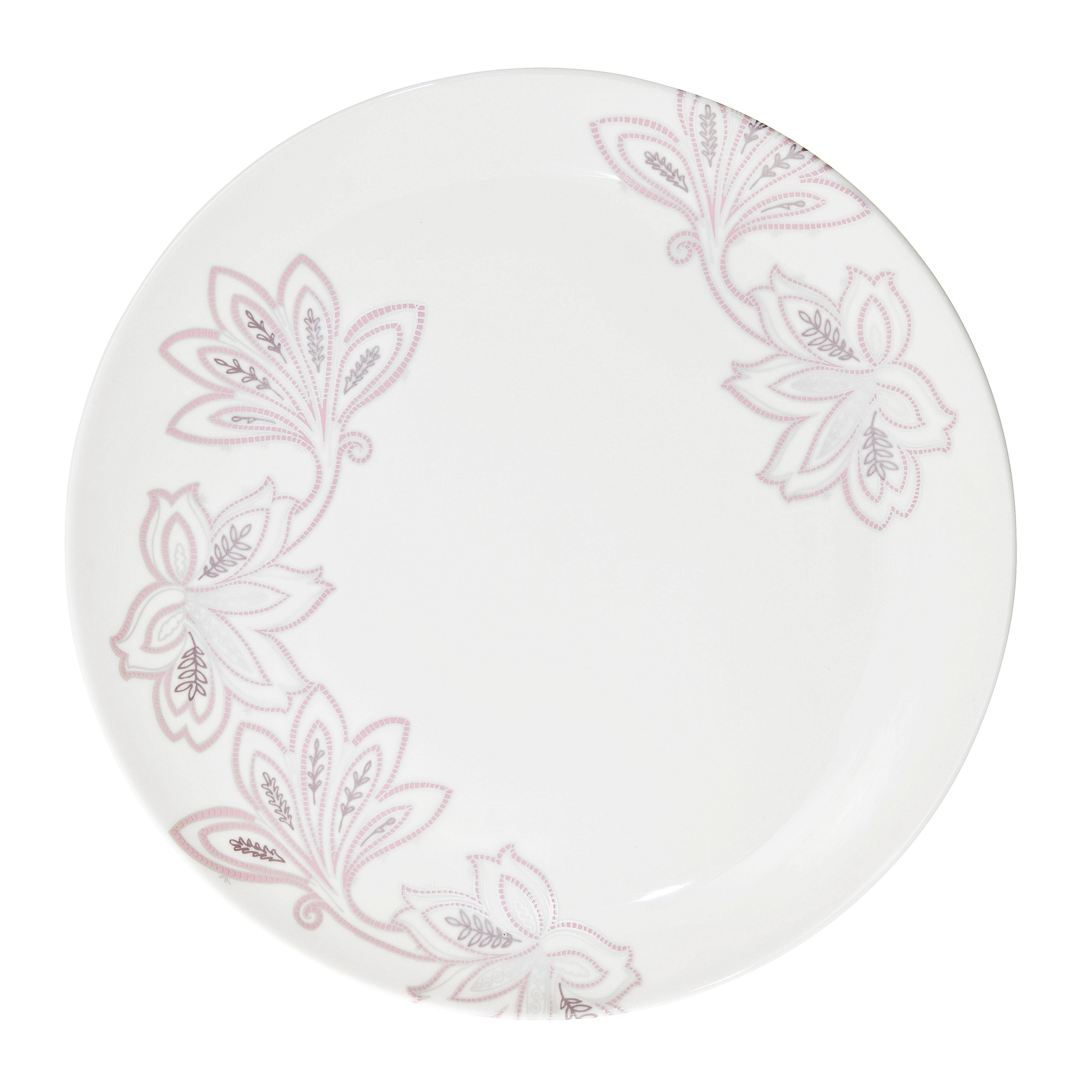 Chantilly dinner plate, cream