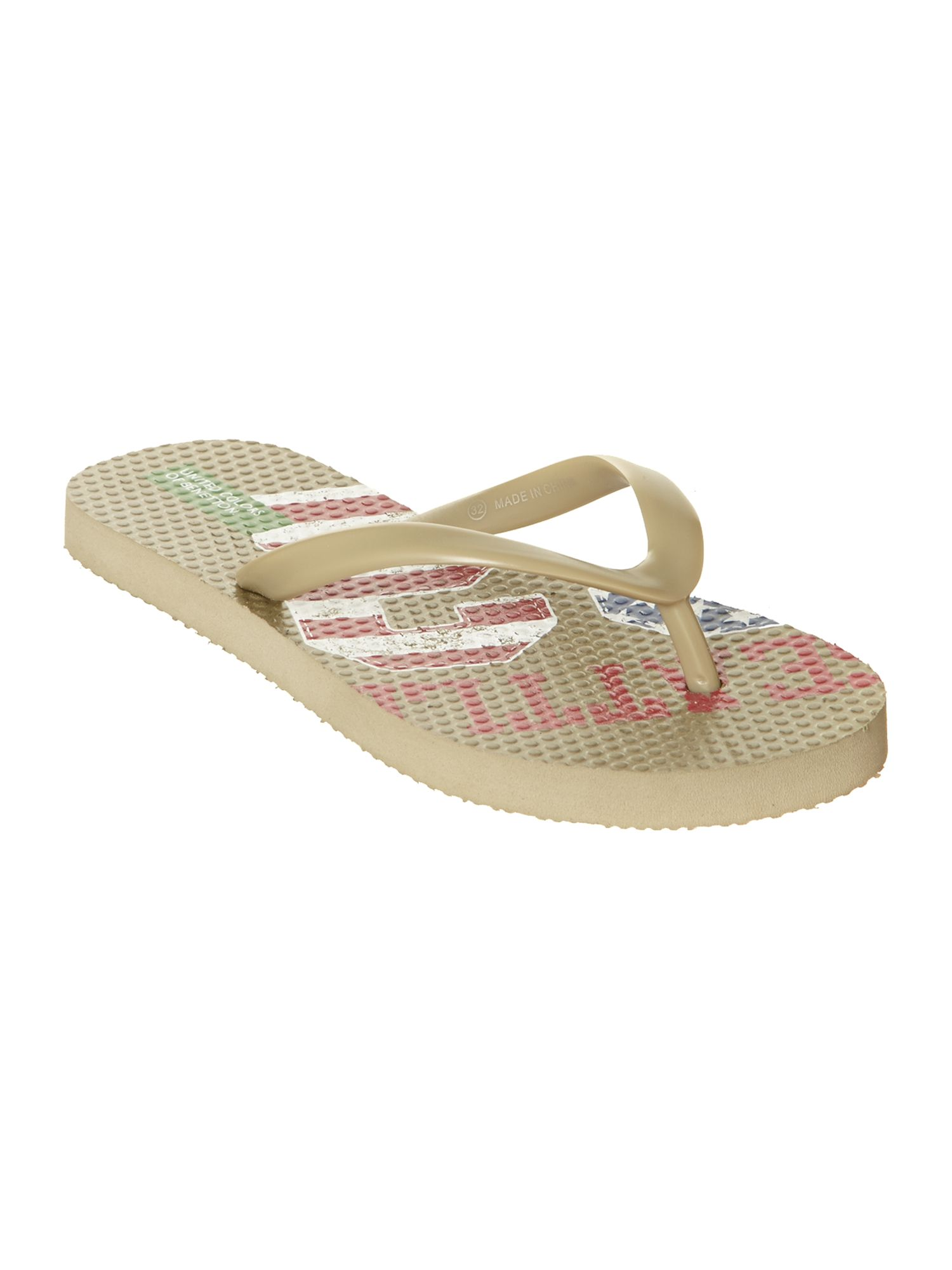 Boy`s stripe flip flop