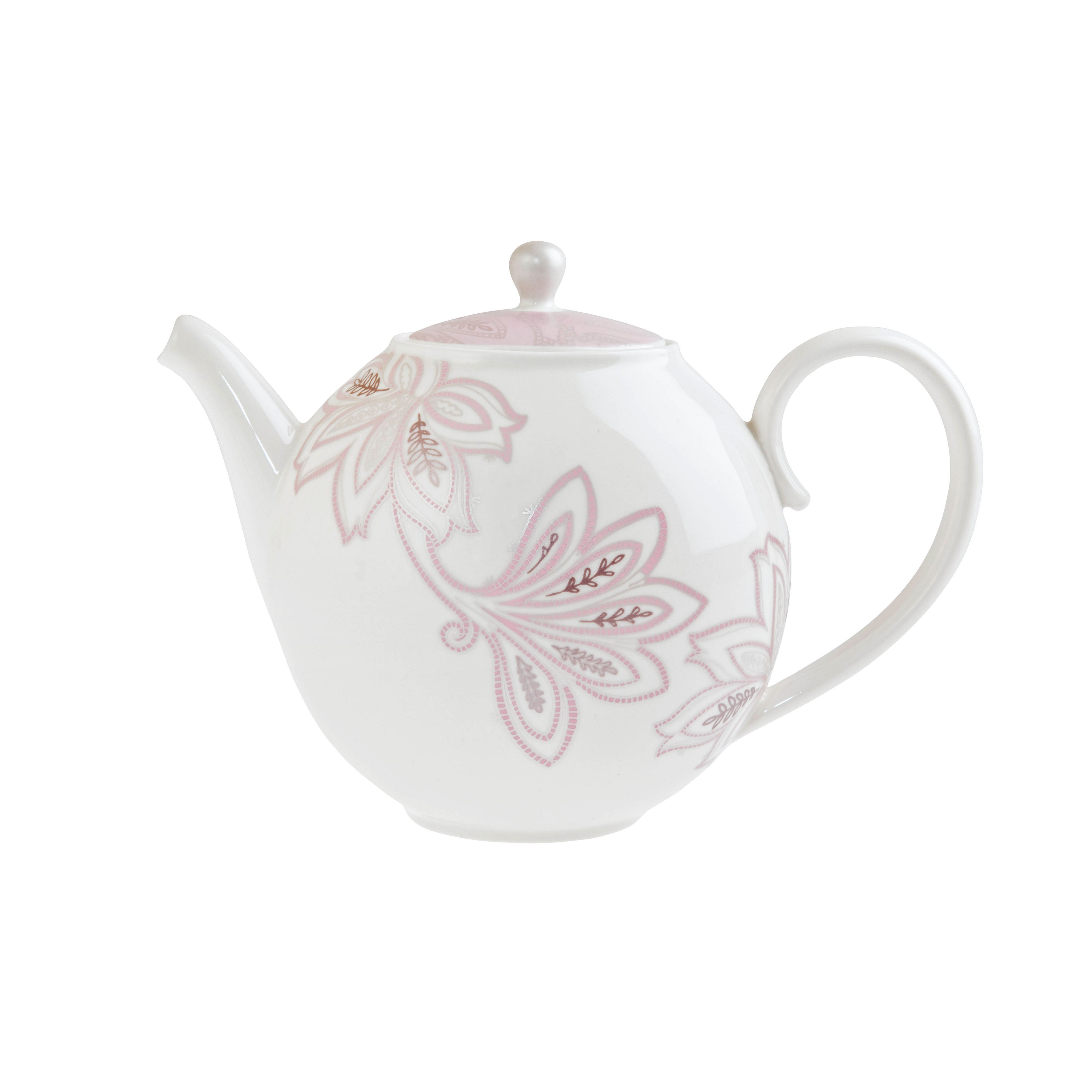 Chantilly teapot