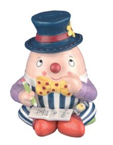 Aynsley Nursery Rhymes Humpty Dumpty Money Box
