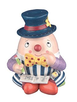 Nursery Rhymes Humpty Dumpty Money Box