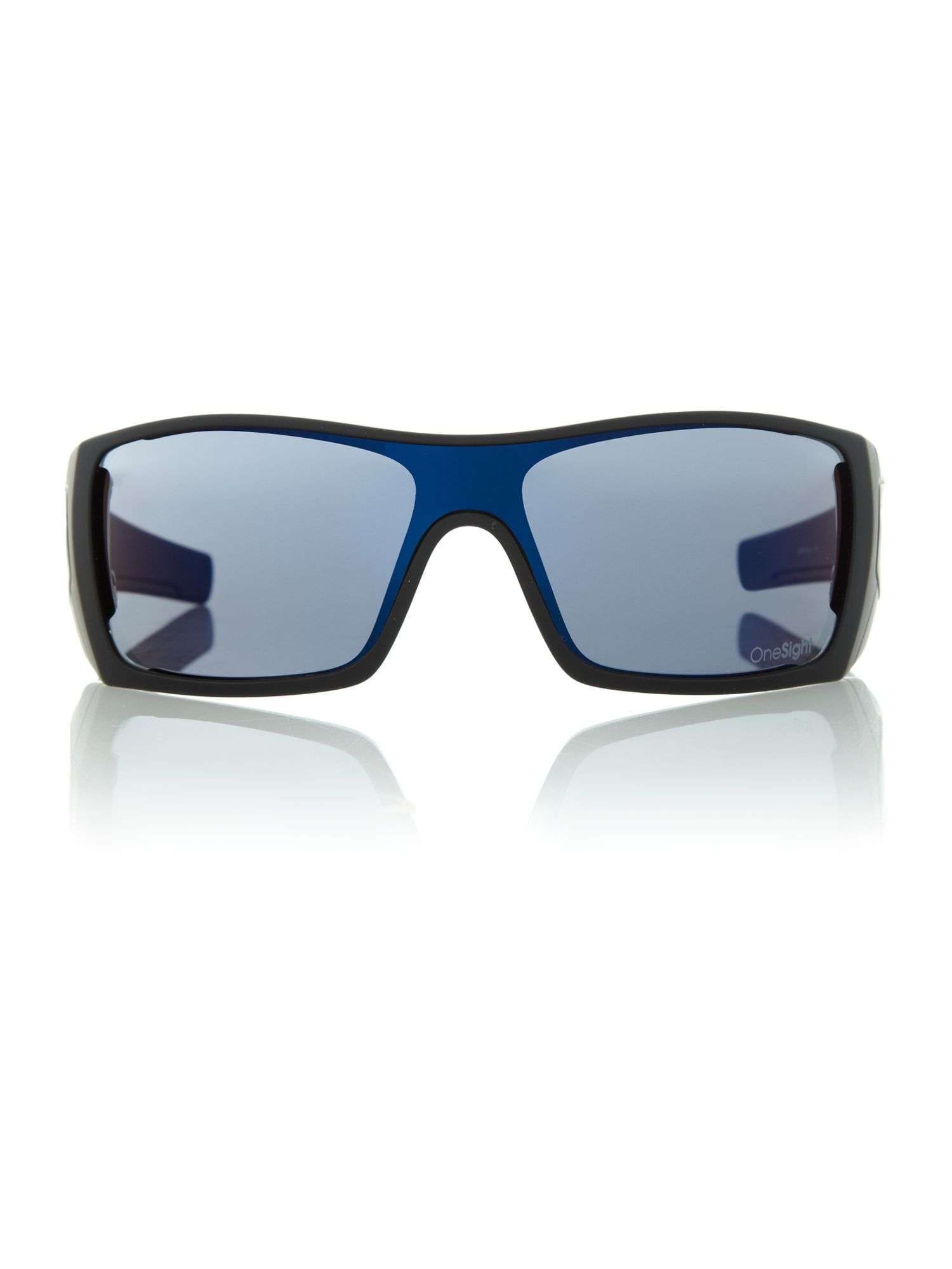 Men`s OO9101 black square sunglasses