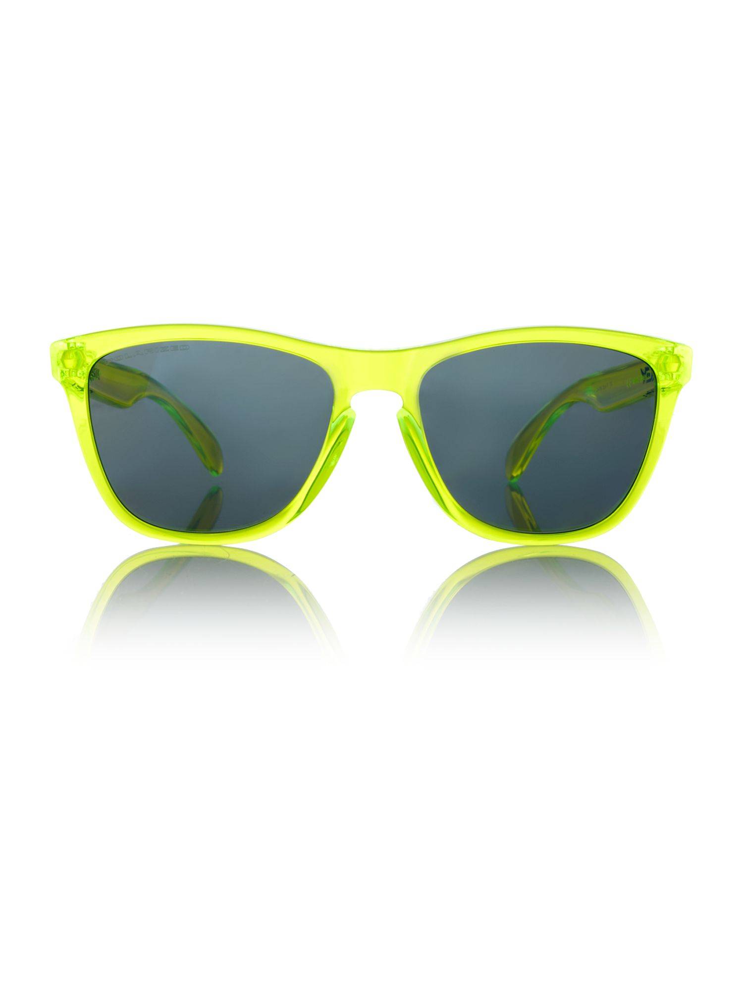 Oakely men`s OO9192 yellow frogskin sunglasses