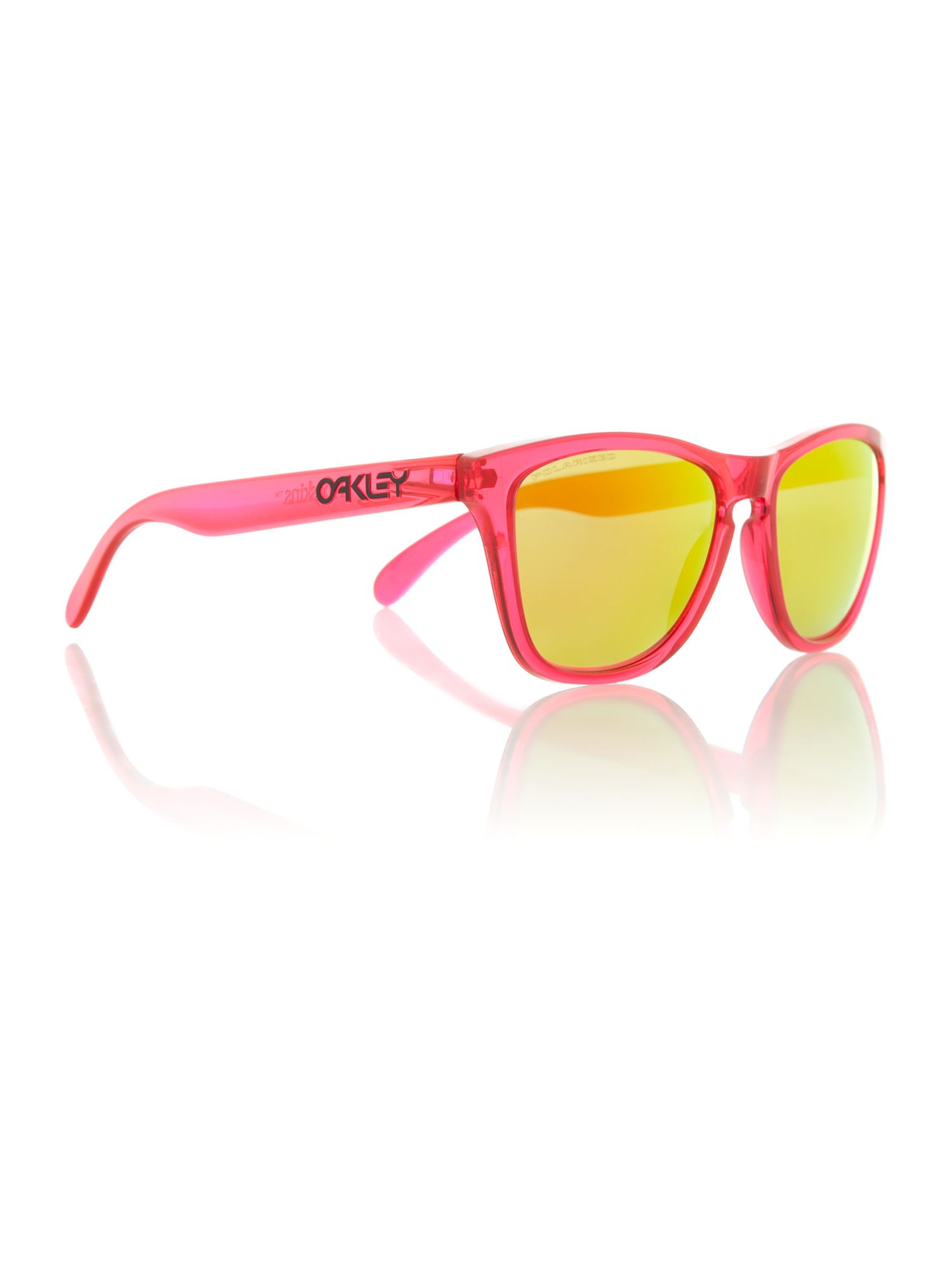 Oakely men`s OO9013 pink frogskin sunglasses