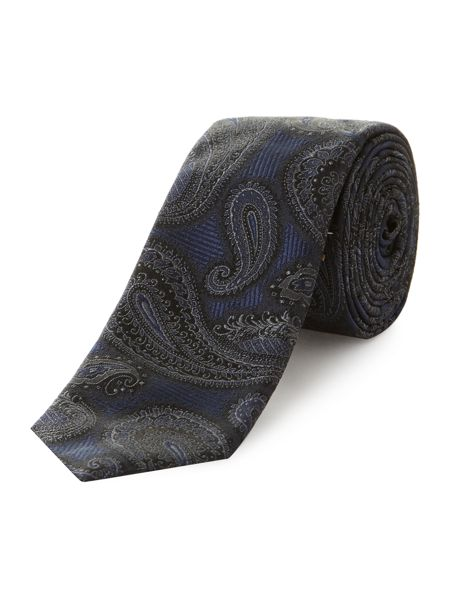 Kenneth Cole Bogard Large Paisley Jacquard Tie
