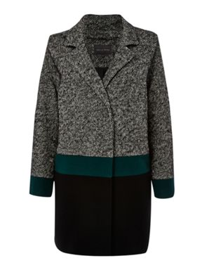 Pied a Terre Colour Block Coat