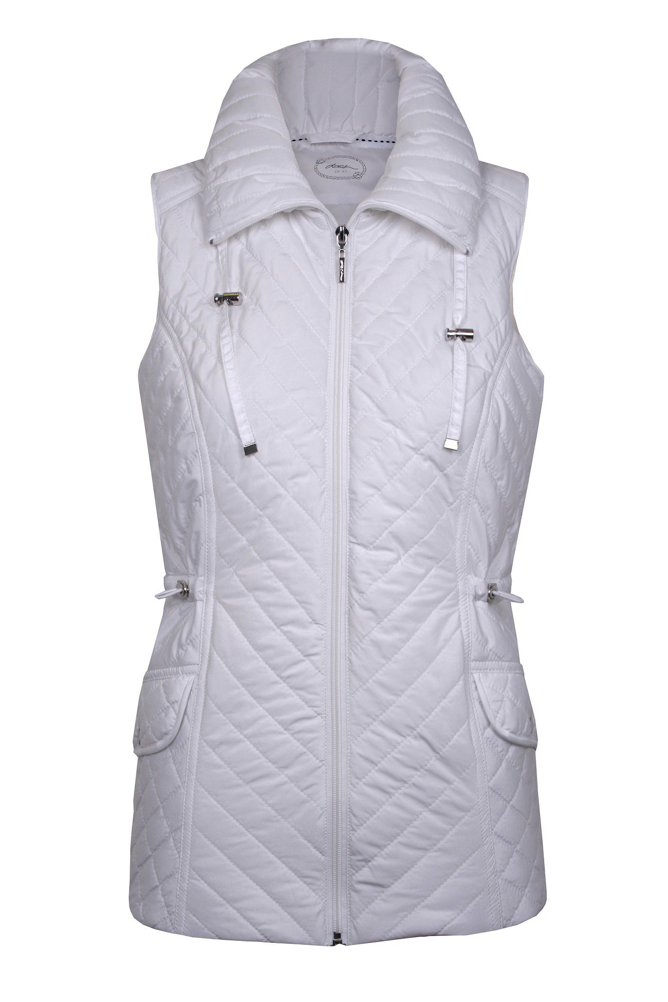 Quilted Flap Pocket Gilet