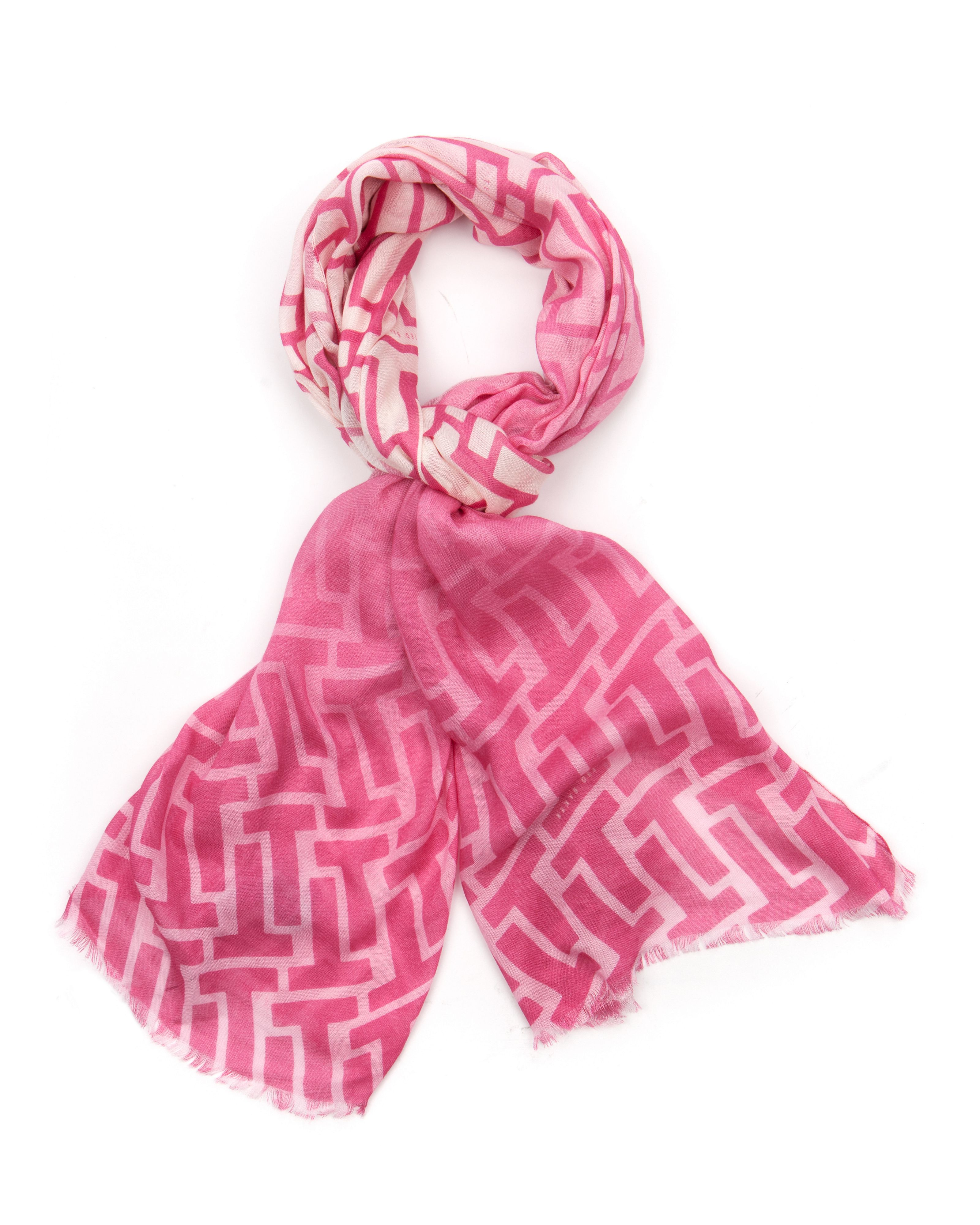 Teetea Graphic printed scarf