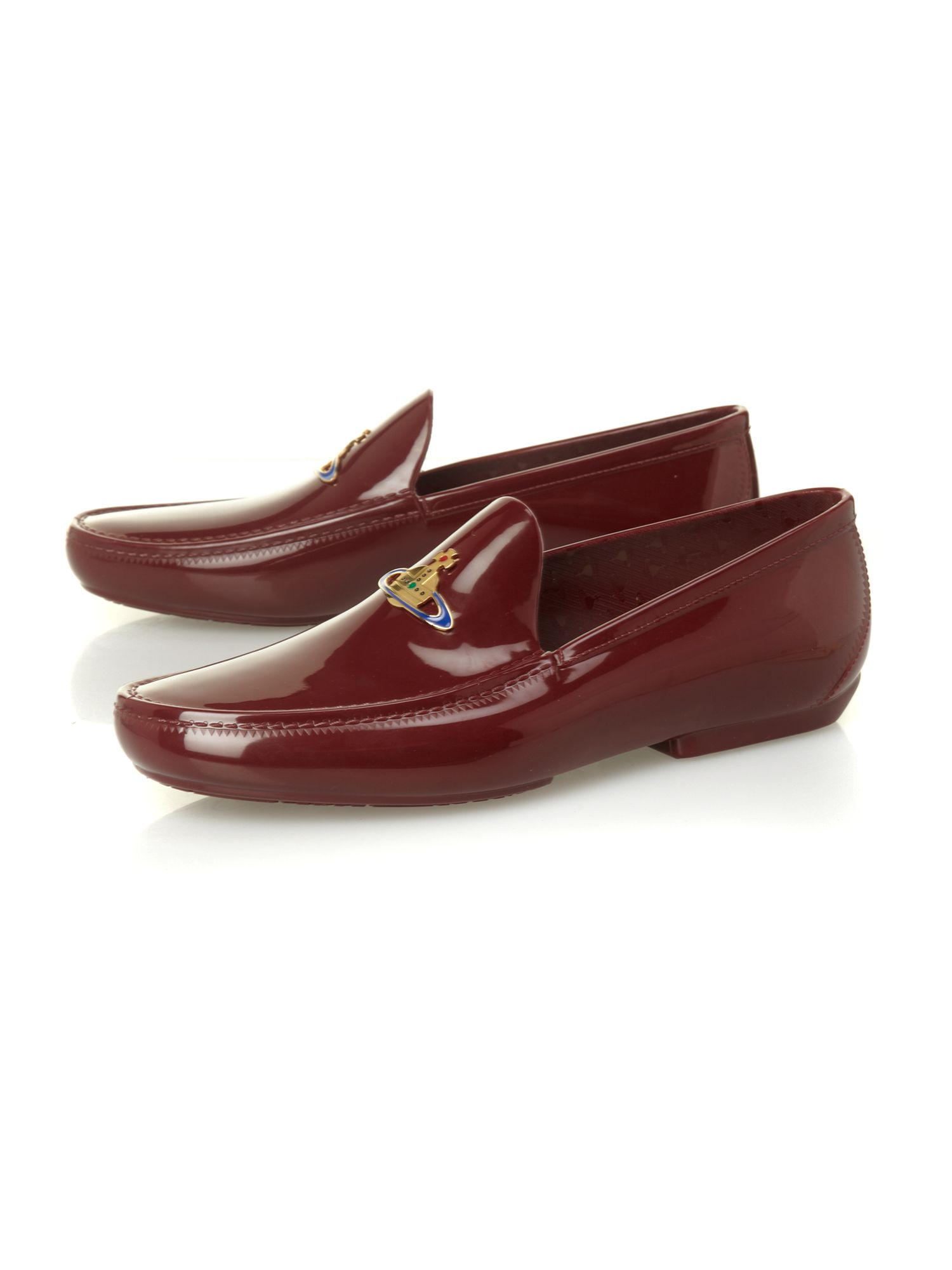 Loafer with orb logo