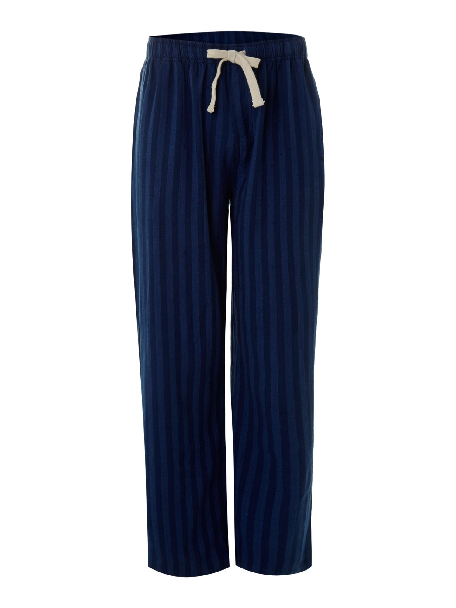 Rope stripe flannel pj pant