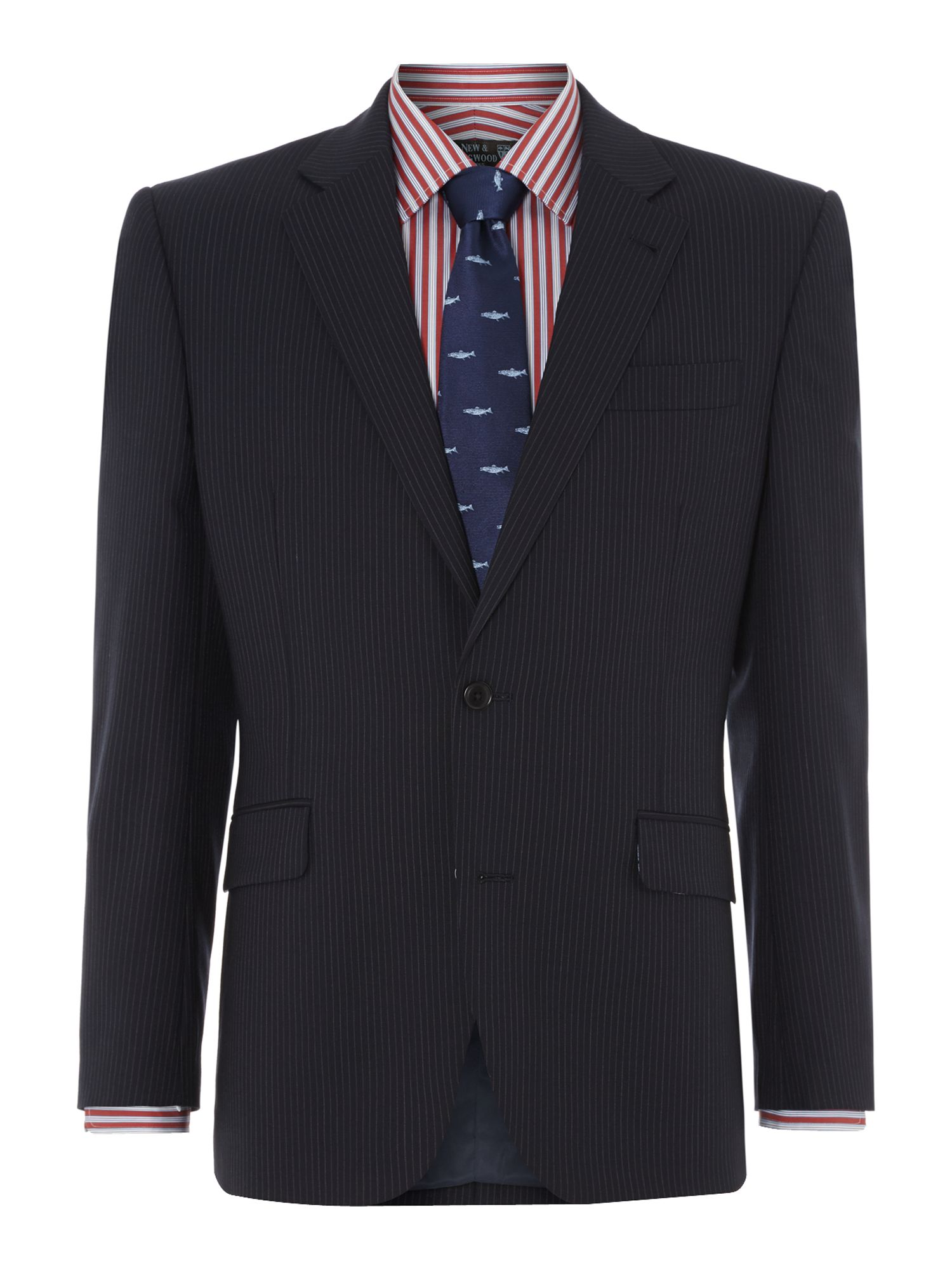 Arthur Stripe Panama Suit Jacket
