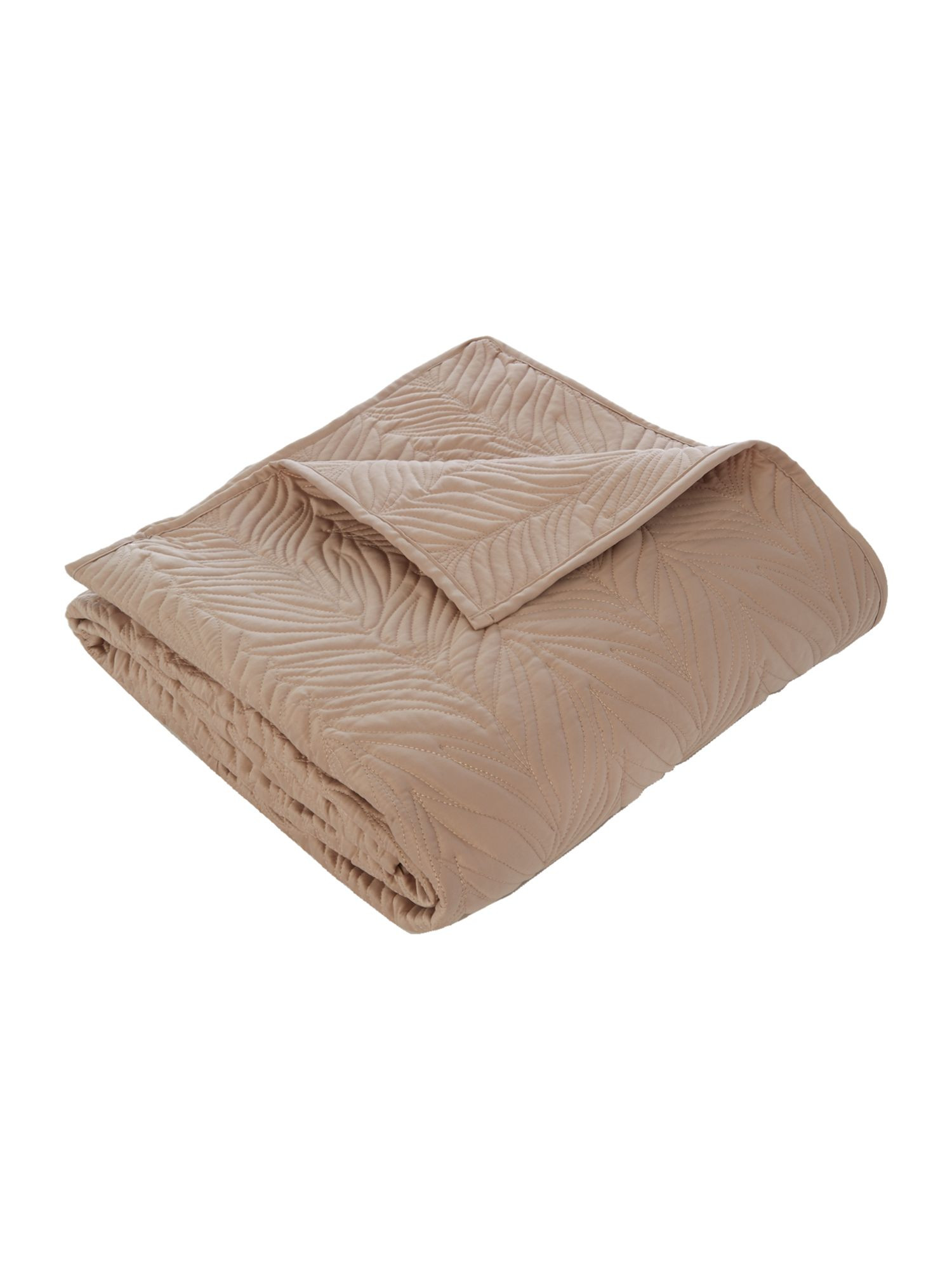 Putty leaf bedspread