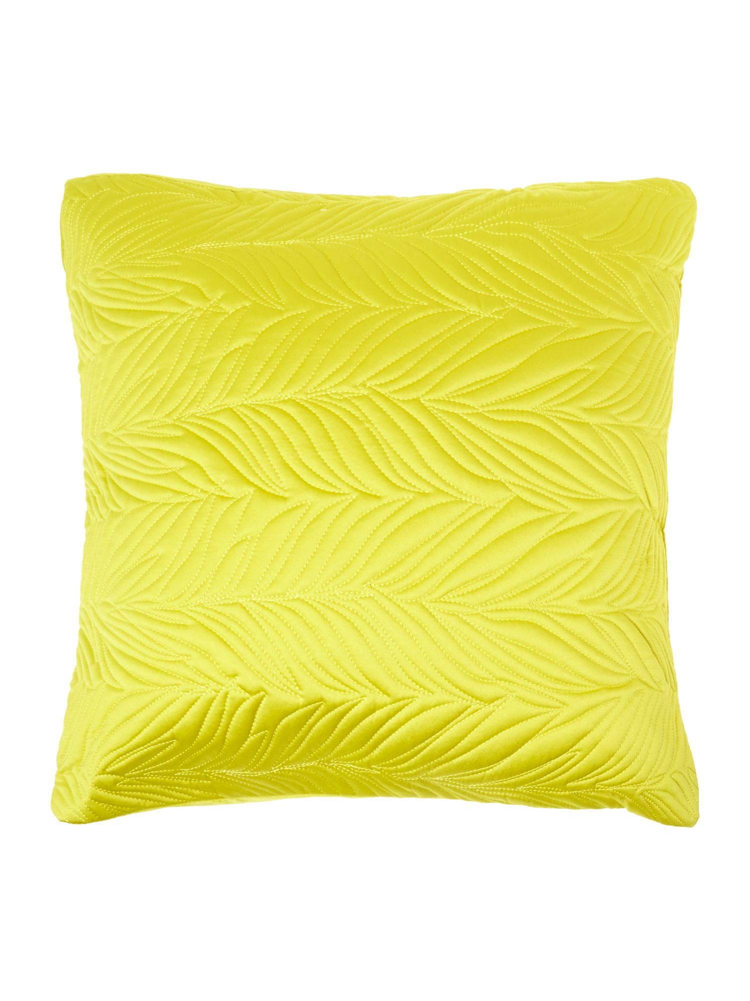 Lime leaf cushion