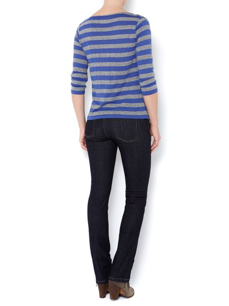 Linea Weekend Ladies stripe cowl neck top