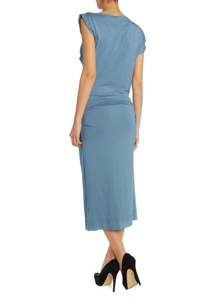 Anglomania Sleeveless draped dress