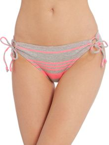 Bikini Lab Stripe factor triangle hipster brief