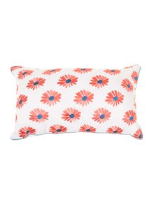 Serenity daisy cushion