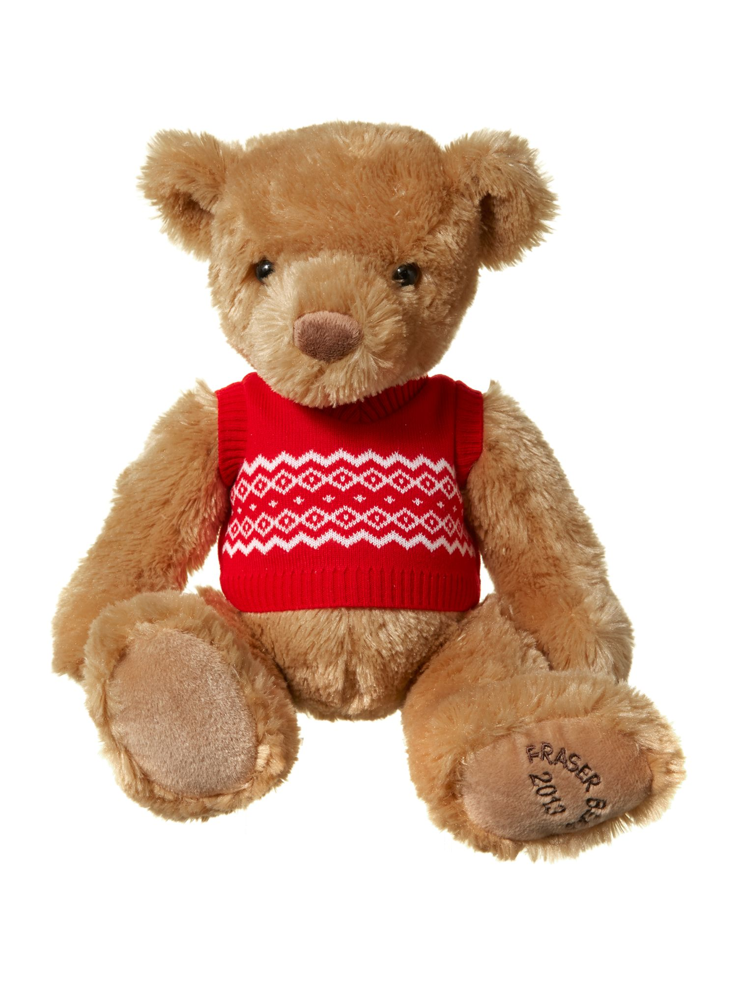 12 inch Fraser bear with tank top