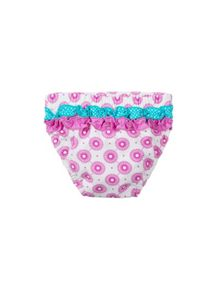 Baby girl`s swim briefs
