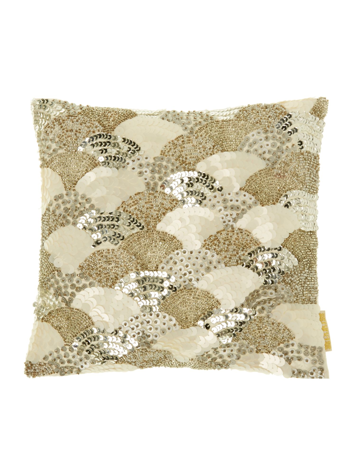 Sequin Arches cushion