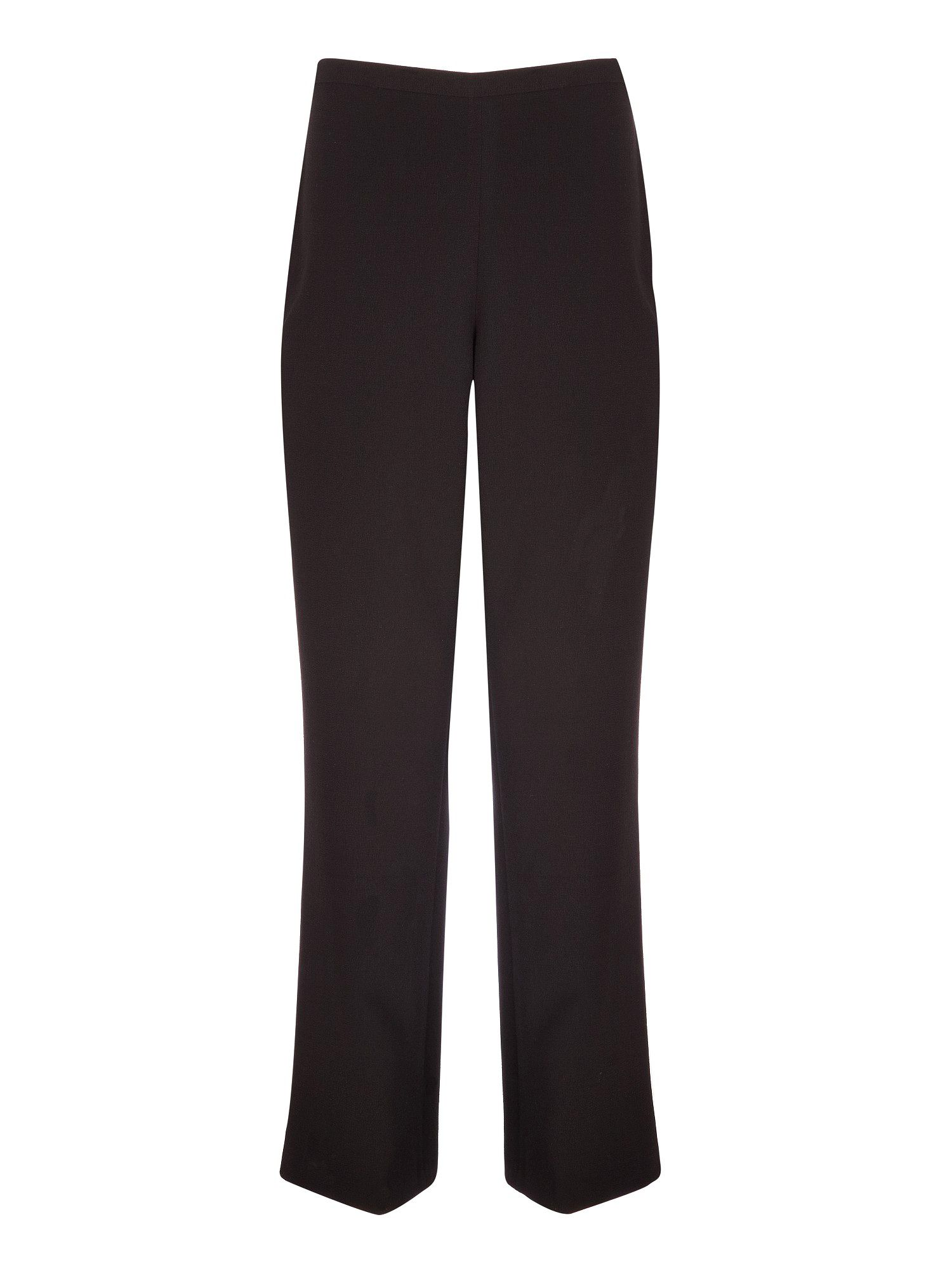 Black textured trousers