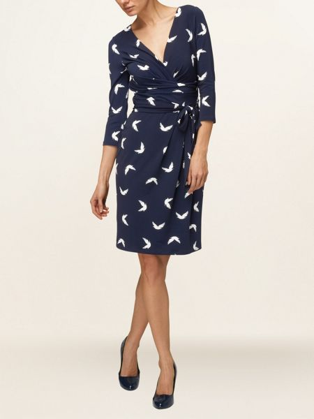 Phase Eight Dove print dress