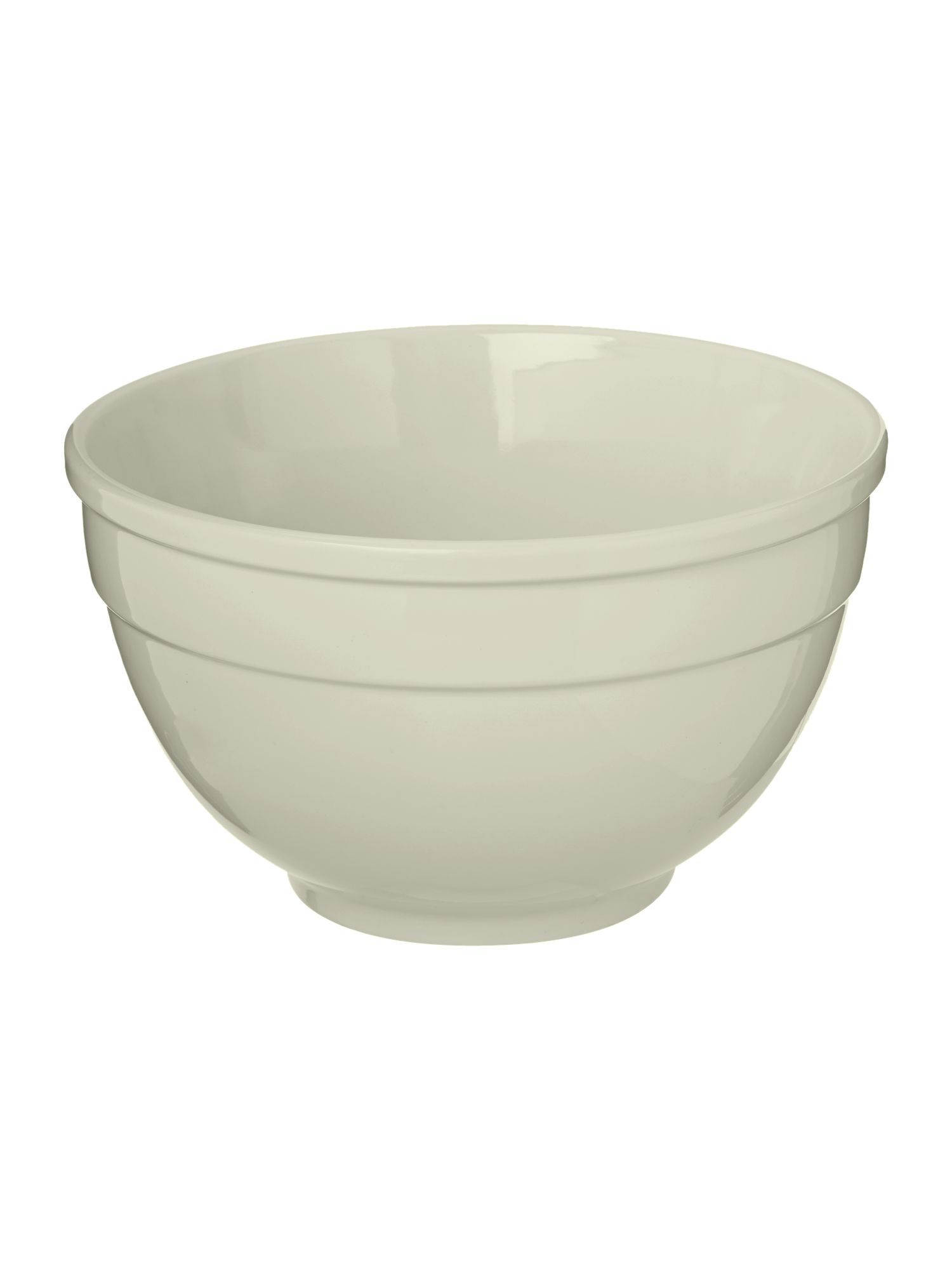 Maison large mixing bowl, white