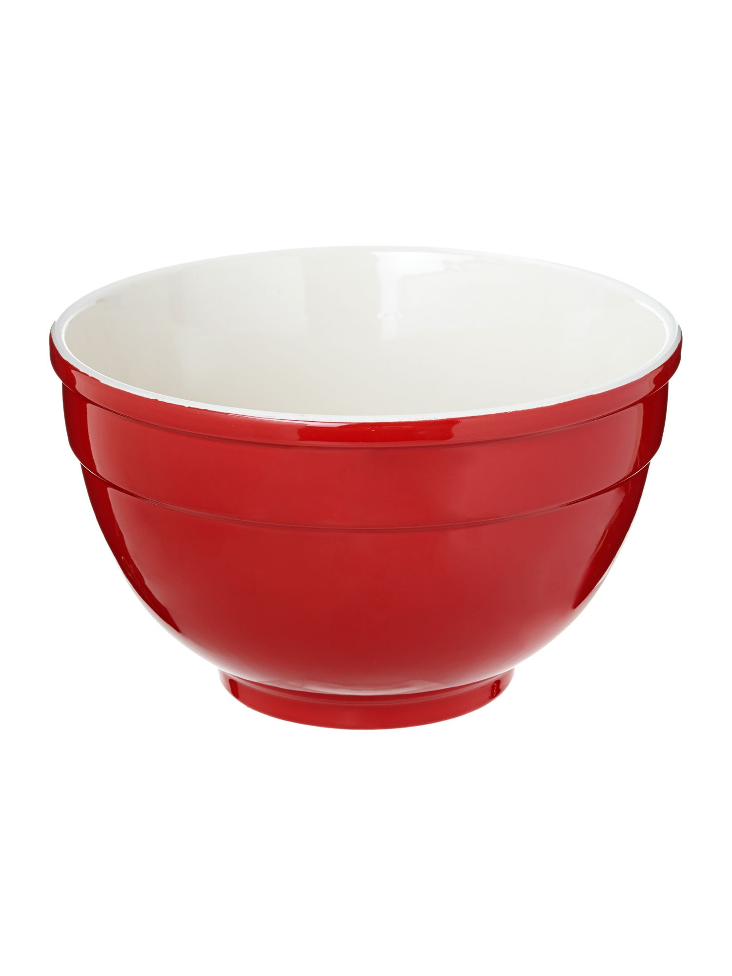 Maison large mixing bowl, red