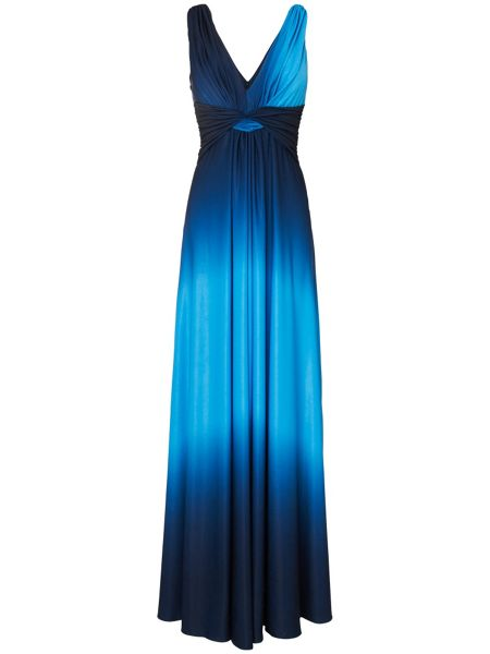 Phase Eight Dip dyed maxi dress