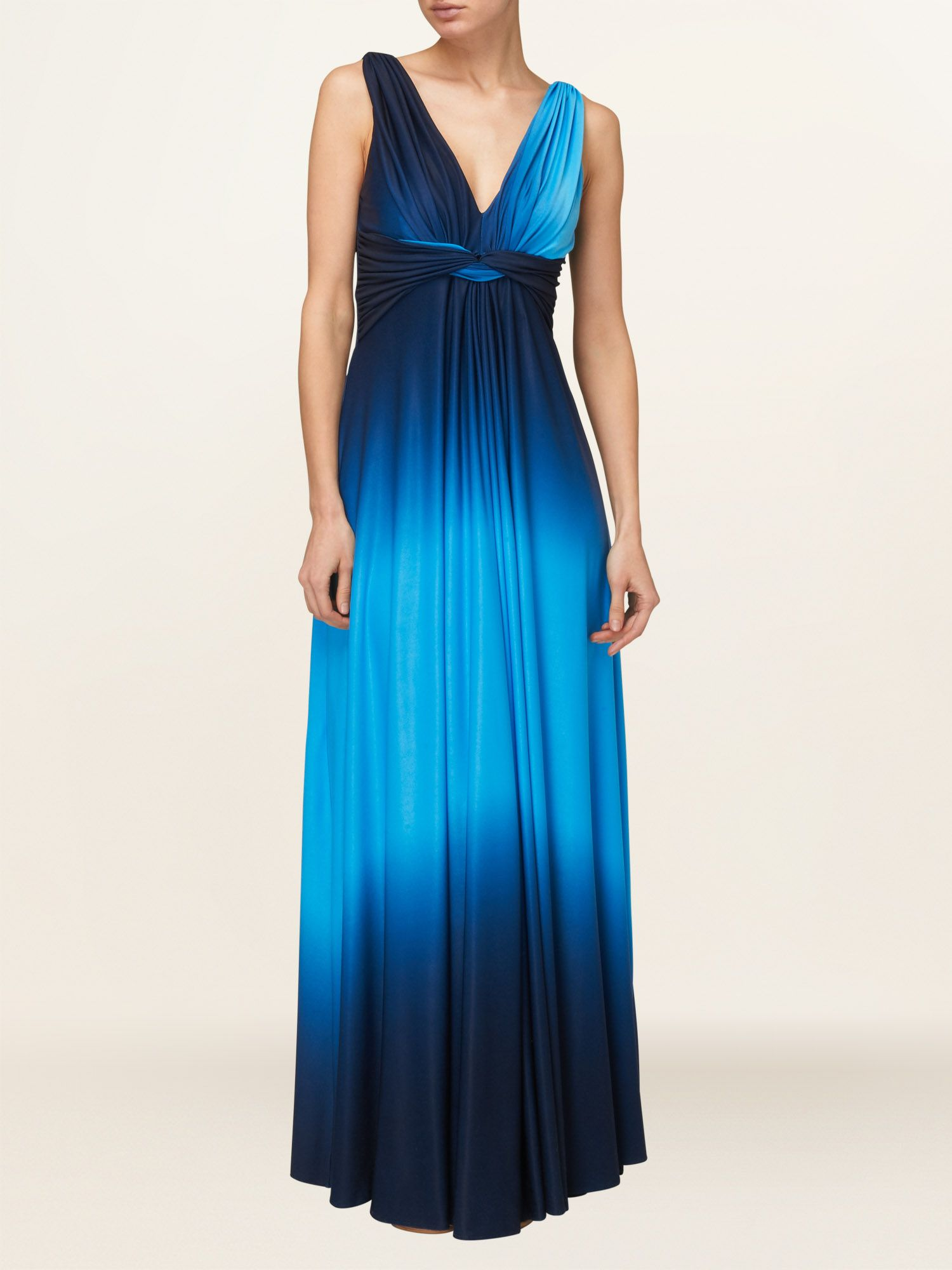 Dip dyed maxi dress