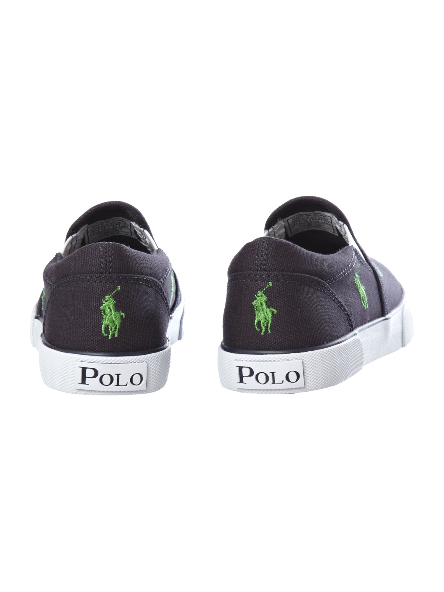Boy`s all over pony print plimsole