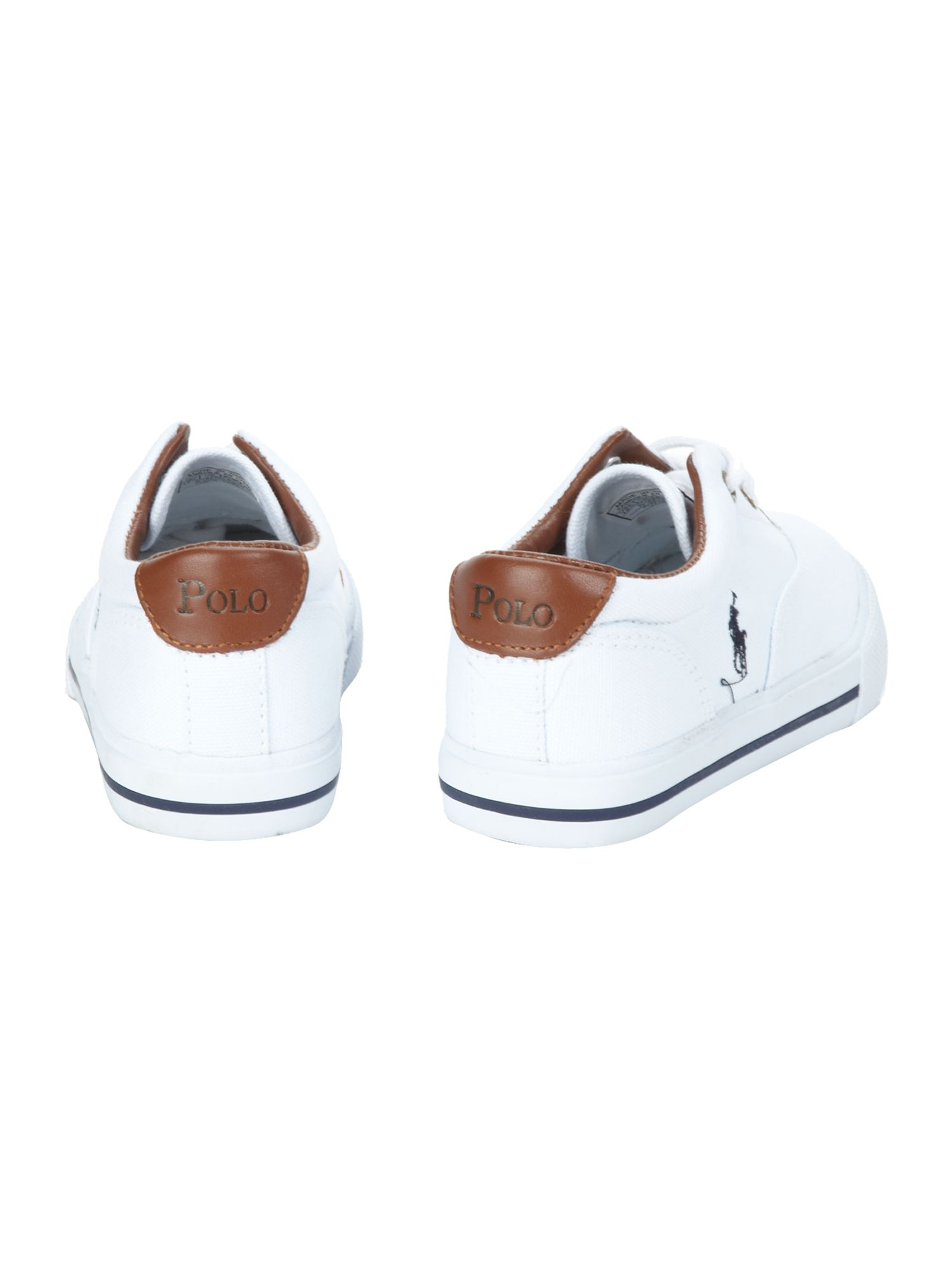 Boy`s canvas lace-up plimsole