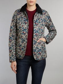 Floral Winter Liddesdale Quilted Jacket
