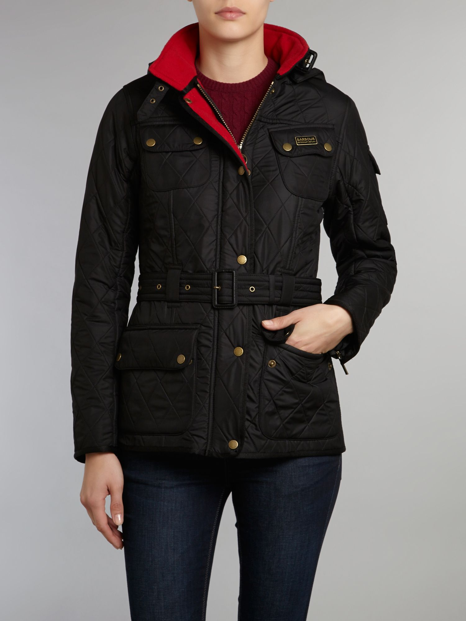 Viper international jacket with hood