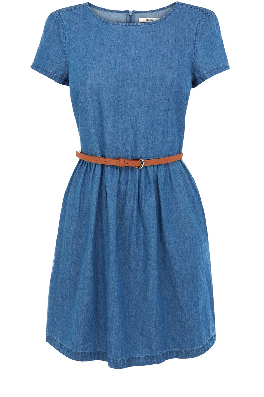 Hayley chambray dress