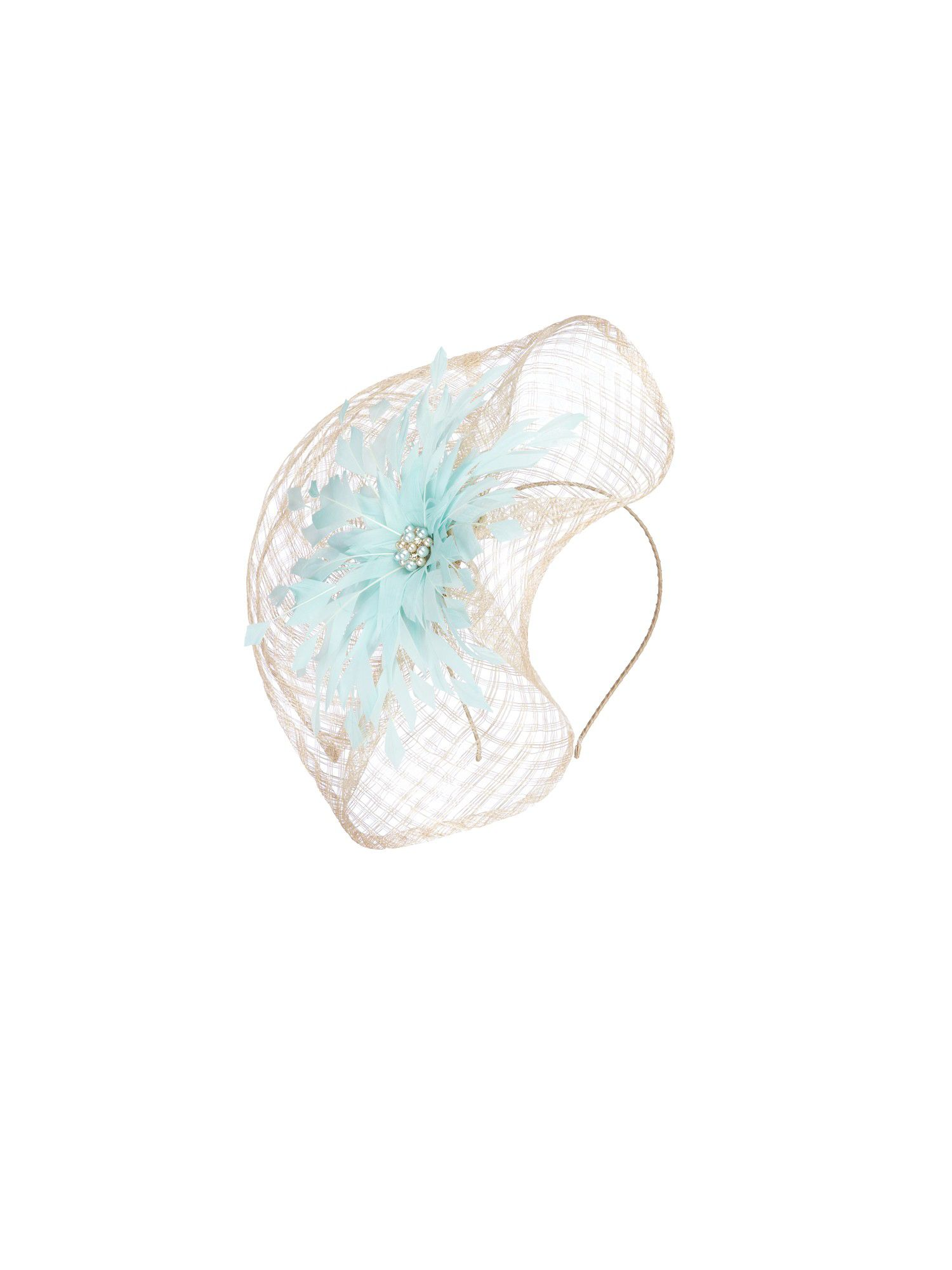Brulee statement fascinator
