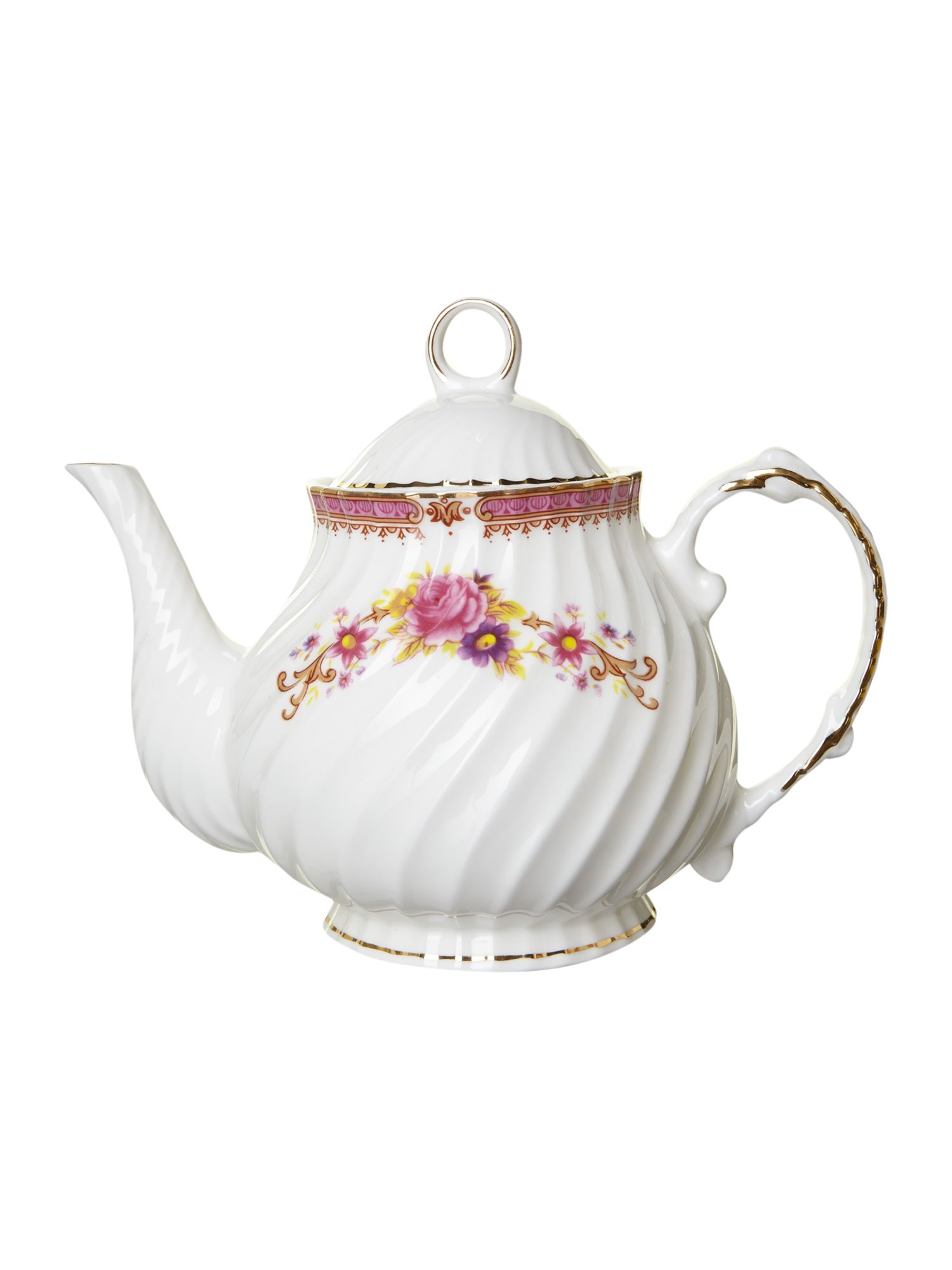 Kensington rose teapot