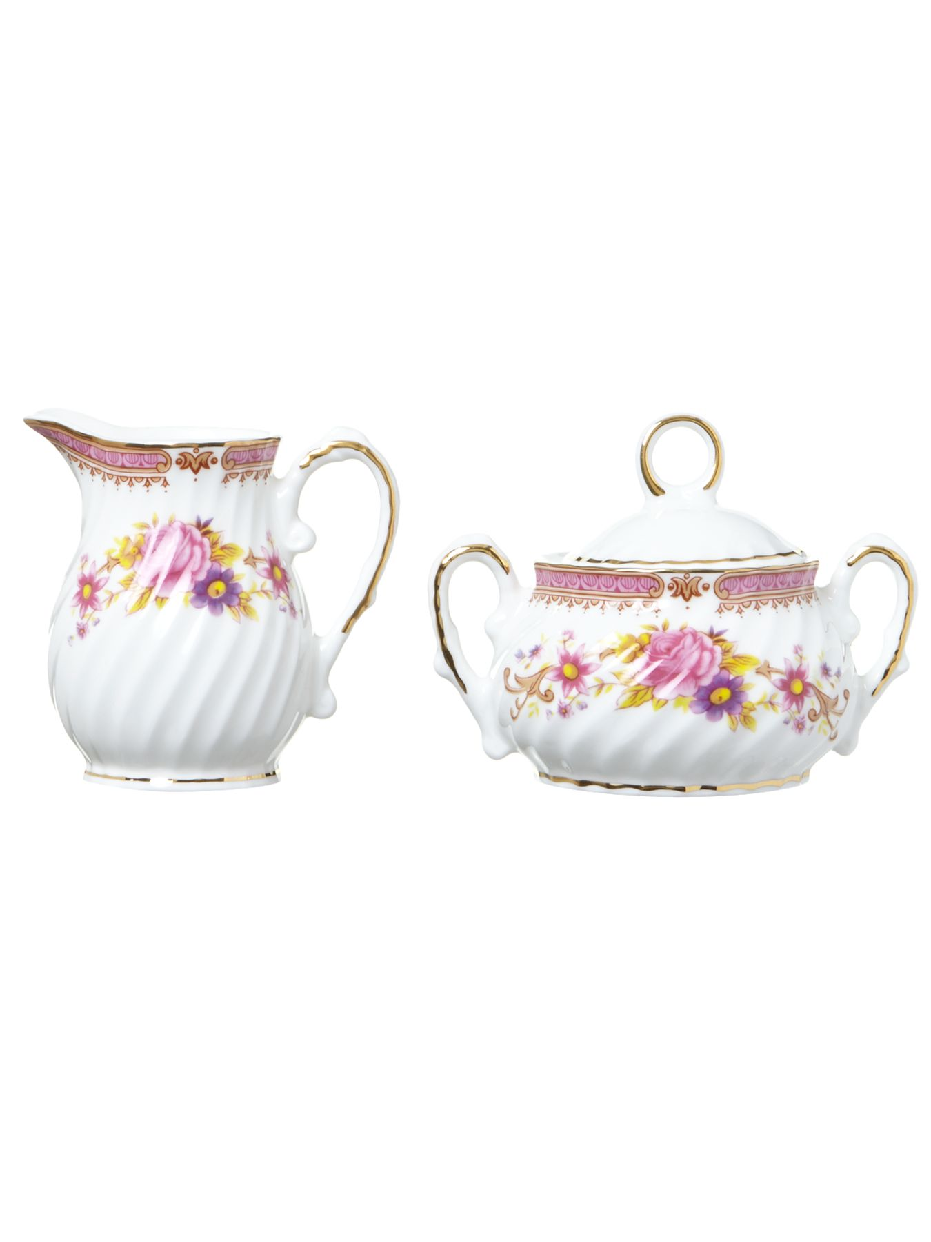 Kr creamer & sugar pot